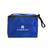 Six Pack Royal Cooler-Pi Kappa Phi Stacked