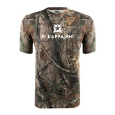 Realtree Camo T Shirt-Pi Kappa Phi Stacked
