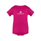 Fuchsia Infant Onesie-Pi Kappa Phi Stacked