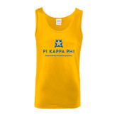 Gold Tank Top-Pi Kappa Phi - Exceptional Leaders.Uncommon Opportunities.