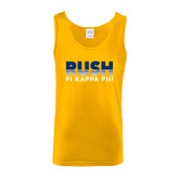 Gold Tank Top-Rush