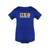 Royal Infant Onesie-Future Pi Kappa Phi w/ Greek Letters