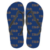 Full Color Flip Flops-Greek Letters