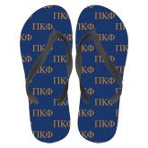 Full Color Flip Flops-Greek Letters