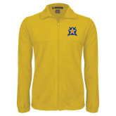 Fleece Full Zip Gold Jacket-Star