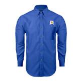 Mens Royal Oxford Long Sleeve Shirt-Star
