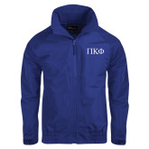 Royal Charger Jacket-Greek Letters