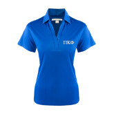 Ladies Royal Performance Fine Jacquard Polo-Greek Letters