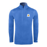 Nike Sphere Dry 1/4 Zip Light Blue Pullover-Star