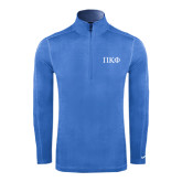 Nike Sphere Dry 1/4 Zip Light Blue Cover Up-Greek Letters