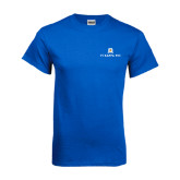 Royal Blue T Shirt-Pi Kappa Phi Stacked