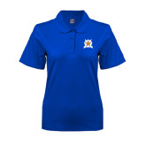 Ladies Easycare Royal Pique Polo-Star