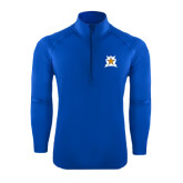Sport Wick Stretch Royal 1/2 Zip Pullover-Star