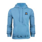 Light Blue Fleece Hoodie-Star