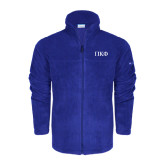 Columbia Full Zip Royal Fleece Jacket-Greek Letters