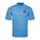Light Blue Mini Stripe Polo-Star