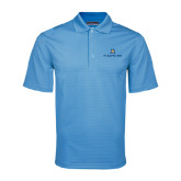 Light Blue Mini Stripe Polo-Pi Kappa Phi Stacked