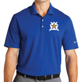 Nike Golf Dri Fit Royal Micro Pique Polo-Star