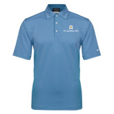 Nike Sphere Dry Light Blue Diamond Polo-Pi Kappa Phi Stacked