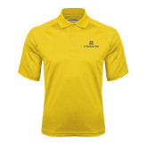 Gold Textured Saddle Shoulder Polo-Pi Kappa Phi Stacked