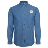 Denim Shirt Long Sleeve-Star