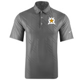 Nike Dri Fit Charcoal Embossed Polo-Star