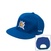 Royal Flat Bill Snapback Hat-Star