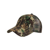 Camo Pro Style Mesh Back Structured Hat-Greek Letters Tone