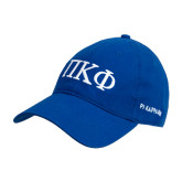 Royal Twill Unstructured Low Profile Hat-Greek Letters