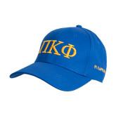 Royal Heavyweight Twill Pro Style Hat-Greek Letters