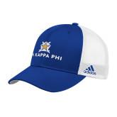 Adidas Royal Structured Adjustable Hat-Pi Kappa Phi Stacked