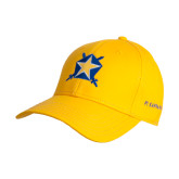 Gold Heavyweight Twill Pro Style Hat-Star