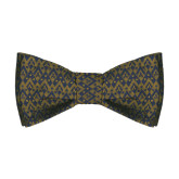 Traditional Silk Bow Tie-Pi Kappa Phi Argyle Patterned Bow Tie