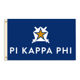 3 ft x 5 ft Flag-Pi Kappa Phi Stacked