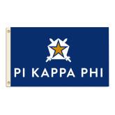 3 ft x 5 ft Flag-Pi Kappa Phi Stacked