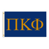 3 ft x 5 ft Flag-Greek Letters - 2 Color