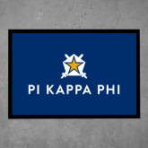 Full Color Indoor Floor Mat-Pi Kappa Phi Stacked