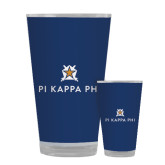 Full Color Glass 17oz-Pi Kappa Phi Stacked