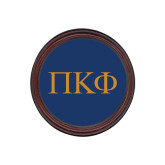 Round Coaster Frame w/Insert-Greek Letters