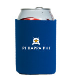 Neoprene Royal Can Holder-Pi Kappa Phi Stacked