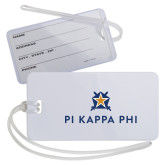 Luggage Tag-Pi Kappa Phi Stacked