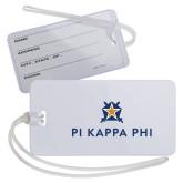 Luggage Tag-Pi Kappa Phi Stacked