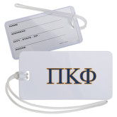 Luggage Tag-Greek Letters - 2 Color