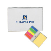 Micro Sticky Book-Pi Kappa Phi Stacked