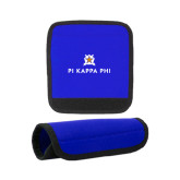 Neoprene Royal Luggage Gripper-Pi Kappa Phi Stacked