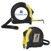 Journeyman Locking 10 Ft. Yellow Tape Measure-Pi Kappa Phi Stacked