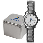 Mens Stainless Steel Fashion Watch-Pi Kappa Phi Stacked