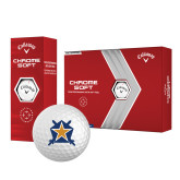 Callaway Chrome Soft Golf Balls 12/pkg-Star