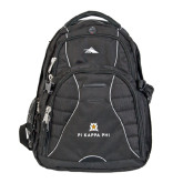 High Sierra Swerve Compu Backpack-Pi Kappa Phi Stacked
