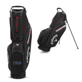 Callaway Hyper Lite 5 Black Stand Bag-Greek Letters - 2 Color